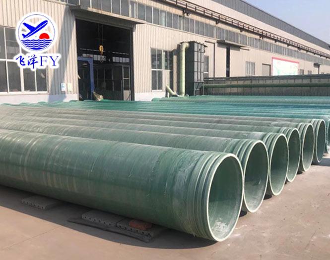 玻璃钢夹砂管具有优异的物理功能(图1)